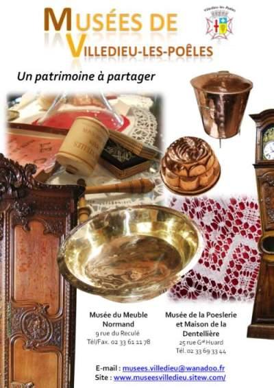Mus e du meuble normand de l 39 tain et de la poeslerie - Office du tourisme villedieu les poeles ...